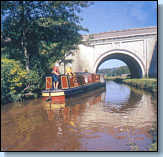 Canal boat holiday on the Caldon canal
